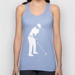 Golf player Unisex Tank Top