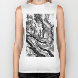 Abstract beauty Biker Tank