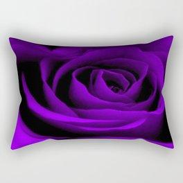 A Purple Rose Rectangular Pillow