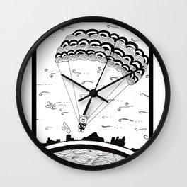 Sky Bear Wall Clock