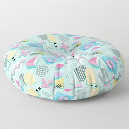 Memphis Sweet Candies Floor Pillow