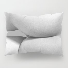 Imperfect Symmetry in a woman body Pillow Sham