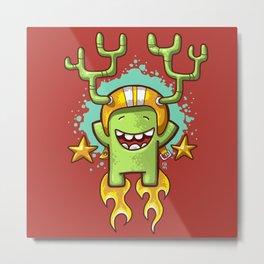 Firecracker Metal Print