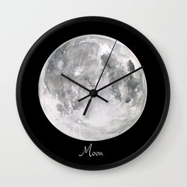 Moon #2 Wall Clock