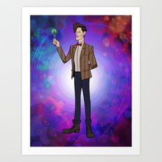 Doctor Who The 11th Art Print