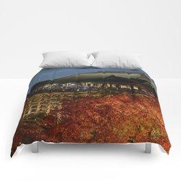 Kiyomizudera Autumn Comforters