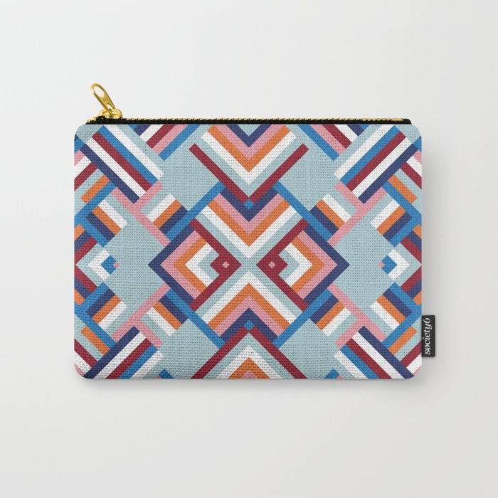 Herringbone Pattern No.2 Carry-All Pouch