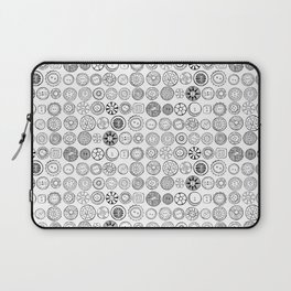 Vintage Buttons Laptop Sleeve