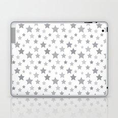Stars gray Laptop & iPad Skin