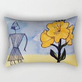 Mic Mac Indian Legend   CANADA                         by Kay Lipton Rectangular Pillow