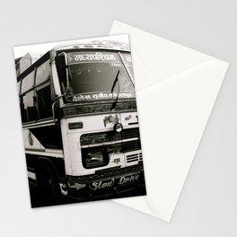 Nepali Bus Stationery Cards