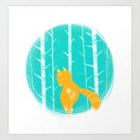 FOX&FOREST Art Print