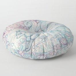 Kitsune Floor Pillow