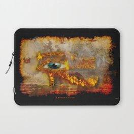 Desert Fire - Eye of Horus Laptop Sleeve