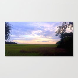 Another Lovely End Canvas Print