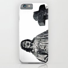Cemetery sculpture iPhone 6s Slim Case