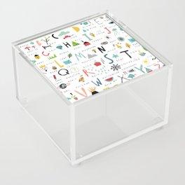 ABC Acrylic Box