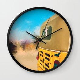 Keke Painting Wall Clock