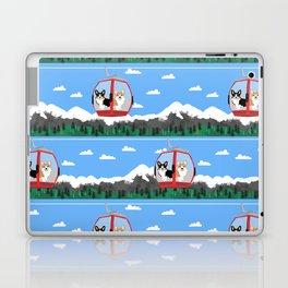Gondola corgis telluride ski slopes custom dog Laptop & iPad Skin