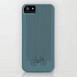 Grey Bike by Friztin iPhone Case