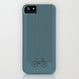 Grey Bike by Friztin iPhone Case