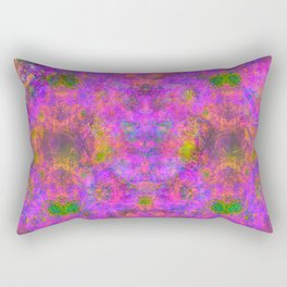 Sedated Abstraction I Rectangular Pillow