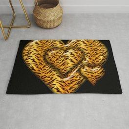 Cheetah Heart HD by JC LOGAN 4 Simply Blessed Rug