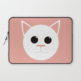 Pink Cat Laptop Sleeve