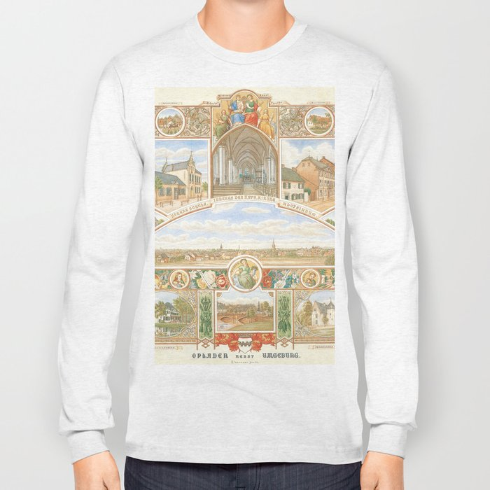 Vintage greeting from Opladen Long Sleeve T-shirt