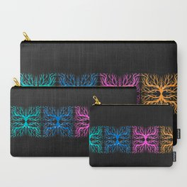 Ghostly Vines Carry-All Pouch