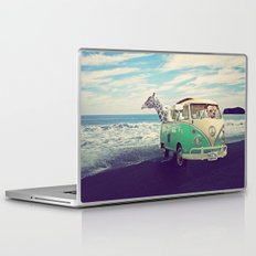 NEVER STOP EXPLORING THE BEACH Laptop & iPad Skin