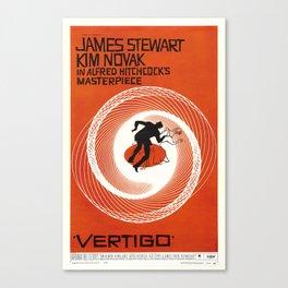 Vertigo - Movie Poster Canvas Print