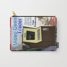 Video Game Trader #20 Cover Design  Carry-All Pouch