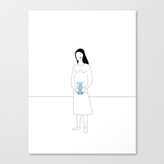 KÆRESTEPAR - Emma Canvas Print