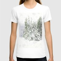 snowboarding T-shirts featuring Winter Fresh by Pure Nature Photos