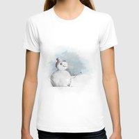 snowman T-shirts featuring snowman by Konstantina Louka