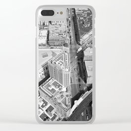 Six Corner Street View Clear iPhone Case