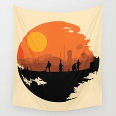 Death Star Alternative Movie Poster Wall Tapestry