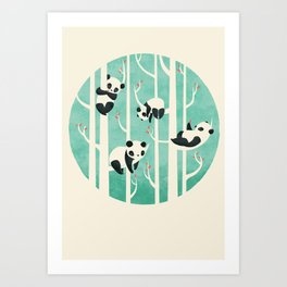 Lazy Sunday Art Print