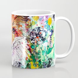 Hide and Seek - Fox Painting Coffee Mug