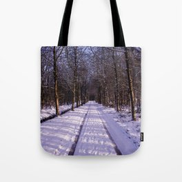 Winter Path Tote Bag