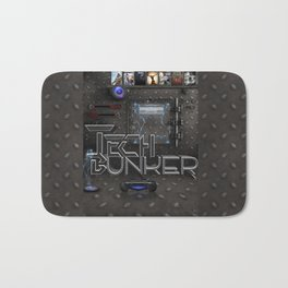 tech bunker Bath Mat