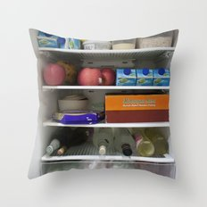 Fridge Candies Oct 1   [REFRIGERATOR] [FRIDGE] [WEIRD] [FRESH] Throw Pillow