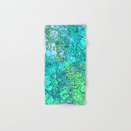 Technology Psychedelic Cold Hand & Bath Towel