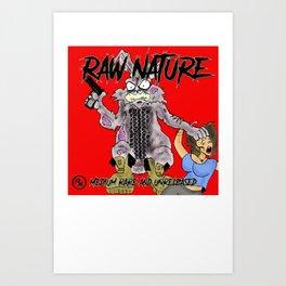 "Raw Nature ""Medium Rare and Unreleased"" Cover Art Print"