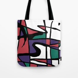 Abstract Painting Design - 5 Tote Bag