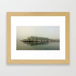 Foggy Pyrmont Framed Art Print
