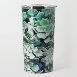 Plants, Succulent, Nature, Modern art, Art, Minimal, Wall art Travel Mug