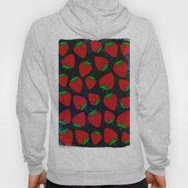 Strawberry pattern Hoody