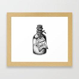 Limonade de Chatte Framed Art Print
